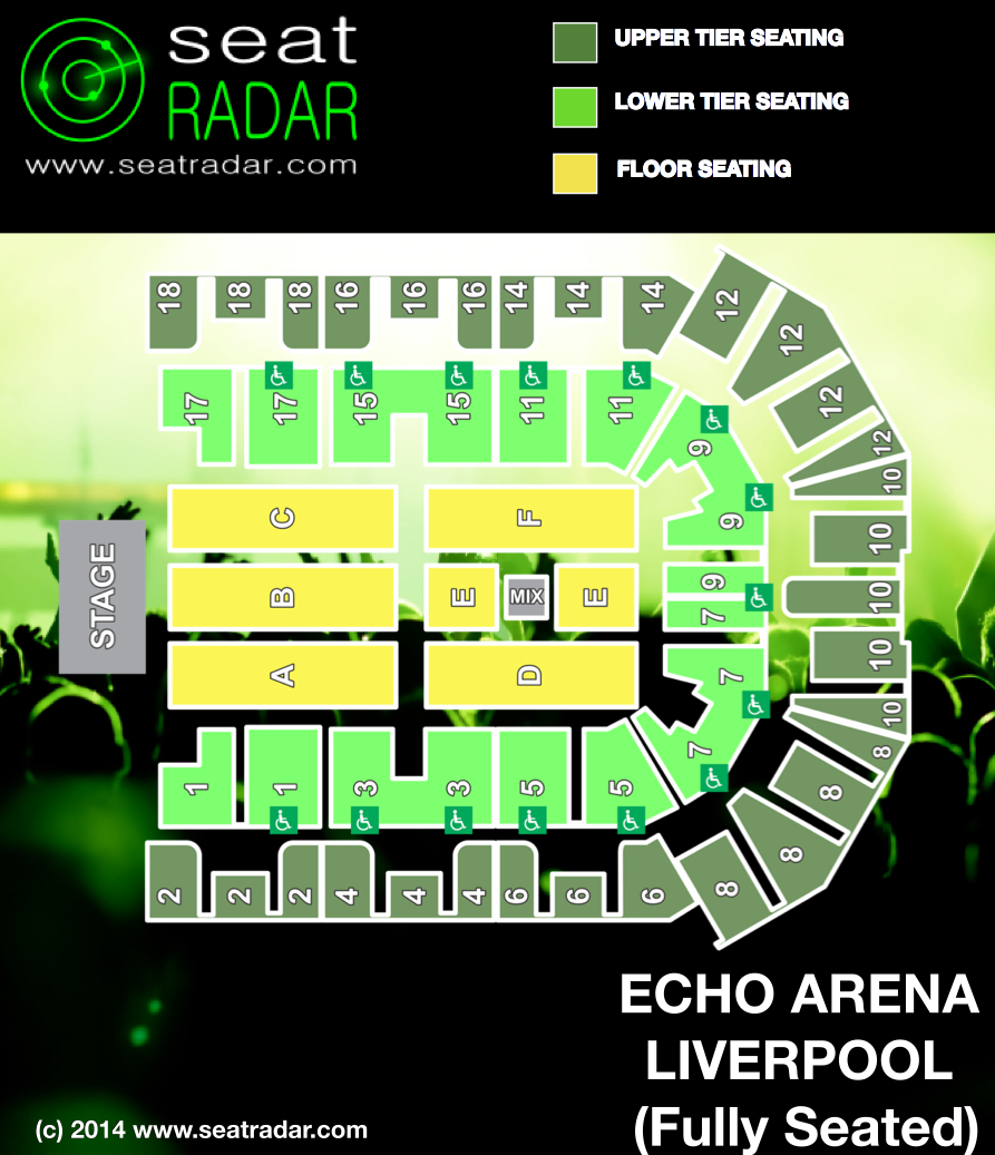 echo arena seating plan related keywords suggestions