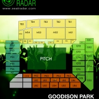 Goodison Park (Everton) Seating Plan