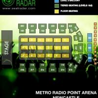 Metro Radio Arena (Newcastle) Fully Seated