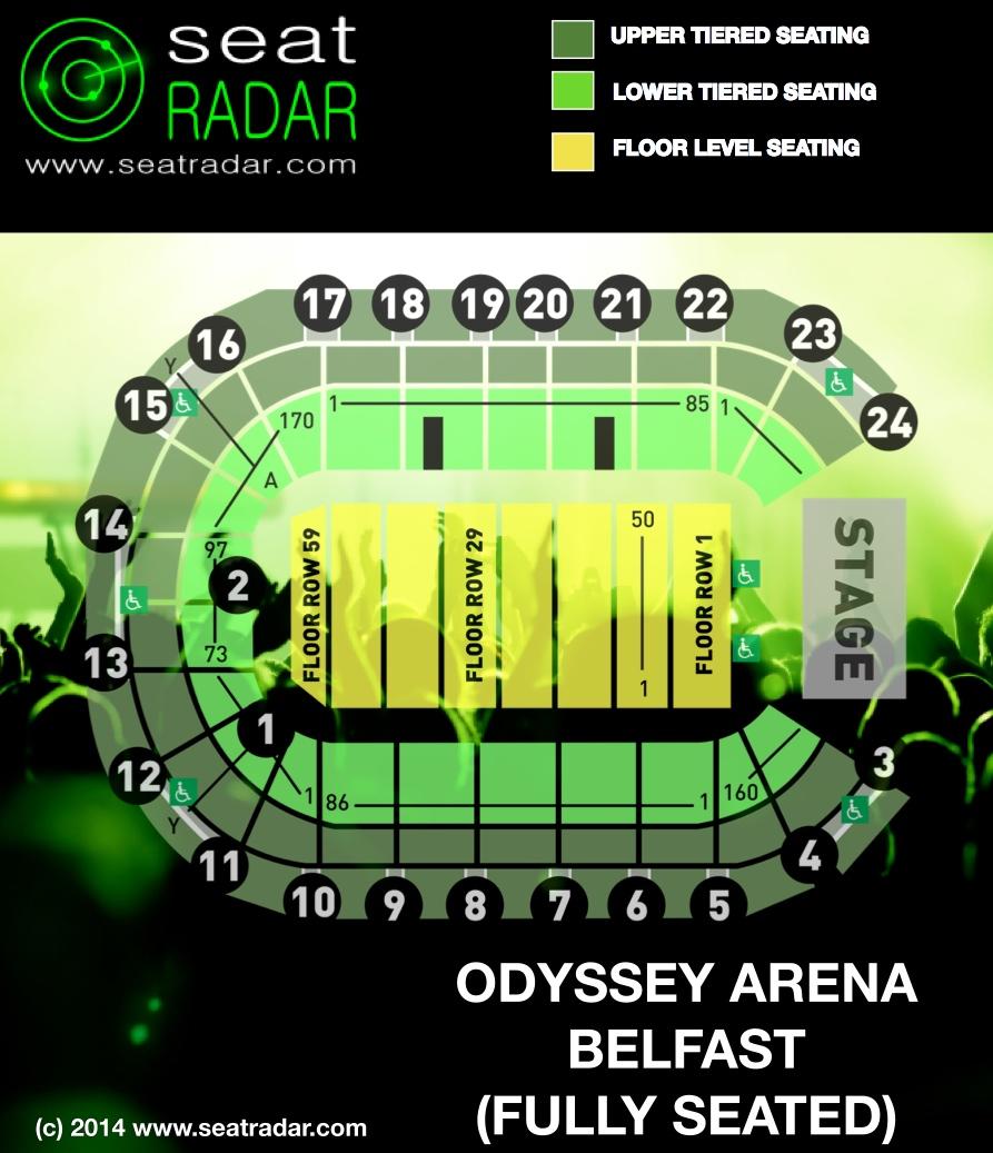 Odyssey Arena Floor Plan Related Keywords Amp