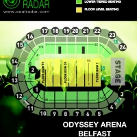 Odyssey Arena (Belfast) Fully Seated