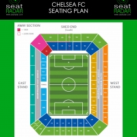 Stamford Bridge Seating Plan (Temporary)