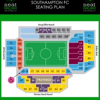 Villa Park (Aston Villa) Seating Plan (Temporary)