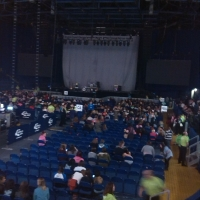 View from Capital FM Arena (Nottingham) Block 11 Row F Seat 10