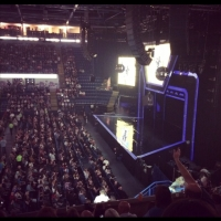 View from Capital FM Arena (Nottingham) Block F Row 26 Seat 4