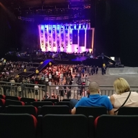 View from First Direct Arena (Leeds) Block 106 Row V Seat 17