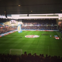 View from Ibrox Park Stadium (Glasgow) Block Br2 Row BB Seat 43