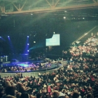 View from LG Arena (Birmingham) Block 013 Row Z Seat 420