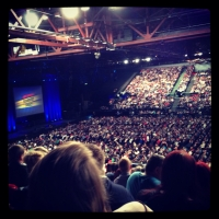 View from LG Arena (Birmingham) Block 014 Row Y Seat 452