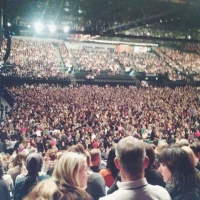 View from LG Arena (Birmingham) Block 015 Row A Seat 9