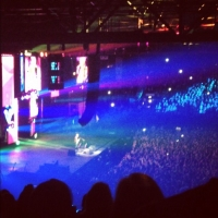 View from LG Arena (Birmingham) Block 016 Row YB Seat 496