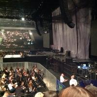 View from LG Arena (Birmingham) Block 002 Row G Seat 32