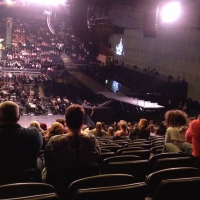 View from LG Arena (Birmingham) Block 002 Row U Seat 41