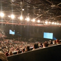 View from LG Arena (Birmingham) Block 004 Row YD Seat 115