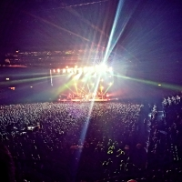 View from LG Arena (Birmingham) Block 007 Row X Seat 216