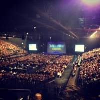 View from LG Arena (Birmingham) Block 007 Row Y Seat 212