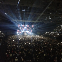 View from LG Arena (Birmingham) Block 009 Row F Seat 17