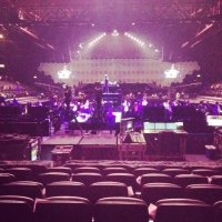 View from LG Arena (Birmingham) Block 009 Row J Seat 265