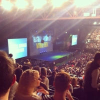 View from LG Arena (Birmingham) Block 009 Row Y Seat 34