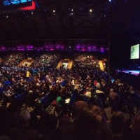 View from Metro Radio Arena (Newcastle) Block 100 Row F Seat 12
