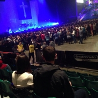 View from Metro Radio Arena (Newcastle) Block 113 Row G Seat 405
