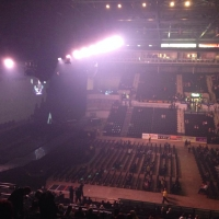 View from Motorpoint Arena (Sheffield) Block 202 Row Q Seat 15