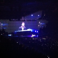 View from Motorpoint Arena (Sheffield) Block 207 Row M Seat 5