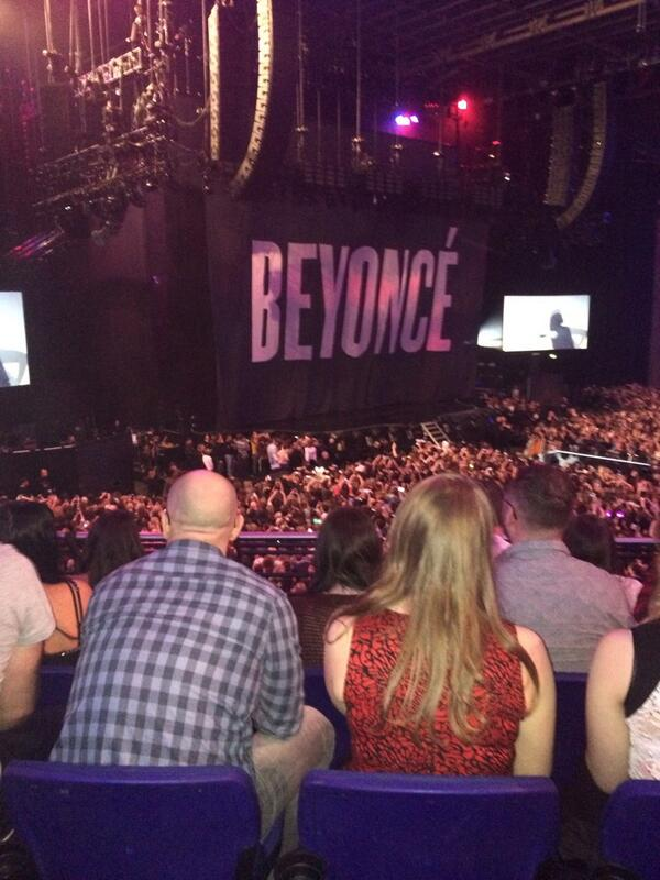 View from Block B of O2 Arena Dublin: Row 25, Seat 47