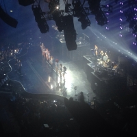 View from O2 Arena (London) Block 421 Row B