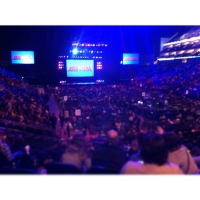 View from O2 Arena (London) Block 105 Row S Seat 1166