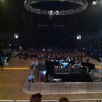 View from O2 Arena (London) Block 106 Row S Seat 195