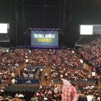 View from O2 Arena (London) Block 106 Row Z Seat 192