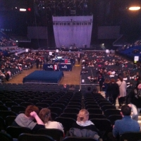 View from O2 Arena (London) Block 107 Row M Seat 211