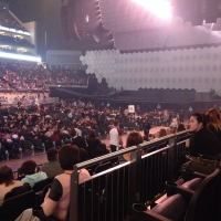 View from O2 Arena (London) Block 110 Row J Seat 318