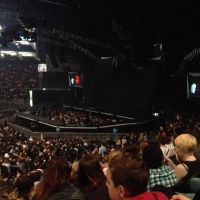View from O2 Arena (London) Block 111 Row V Seat 346