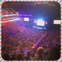 View from O2 Arena (London) Block 15 Row R Seat 90