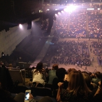 View from O2 Arena (London) Block 402 Row K Seat 491