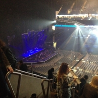View from O2 Arena (London) Block 404 Row H