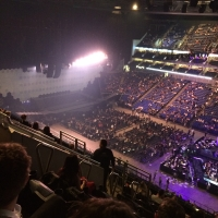 View from O2 Arena (London) Block 405 Row J Seat 71