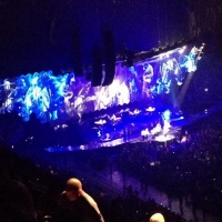 View from O2 Arena (London) Block 406 Row U Seat 594