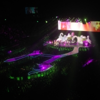 View from O2 Arena (London) Block 416 Row J Seat 818