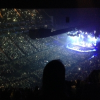 View from O2 Arena (London) Block 416 Row S Seat 819