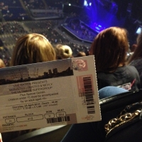 View from O2 Arena (London) Block 418 Row K Seat 884