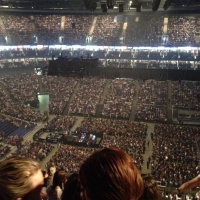 View from O2 Arena (London) Block 420 Row N Seat 930