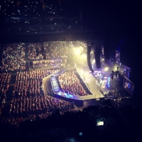 View from O2 Arena (London) Block 420 Row N Seat 943