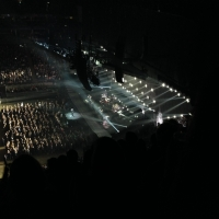 View from O2 Arena (London) Block 420 Row R Seat 368