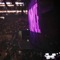 View from O2 Arena (London) Block 112 Row Q