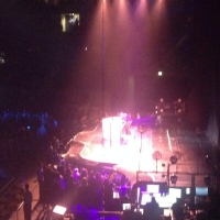 View from O2 Arena (London) Block 113