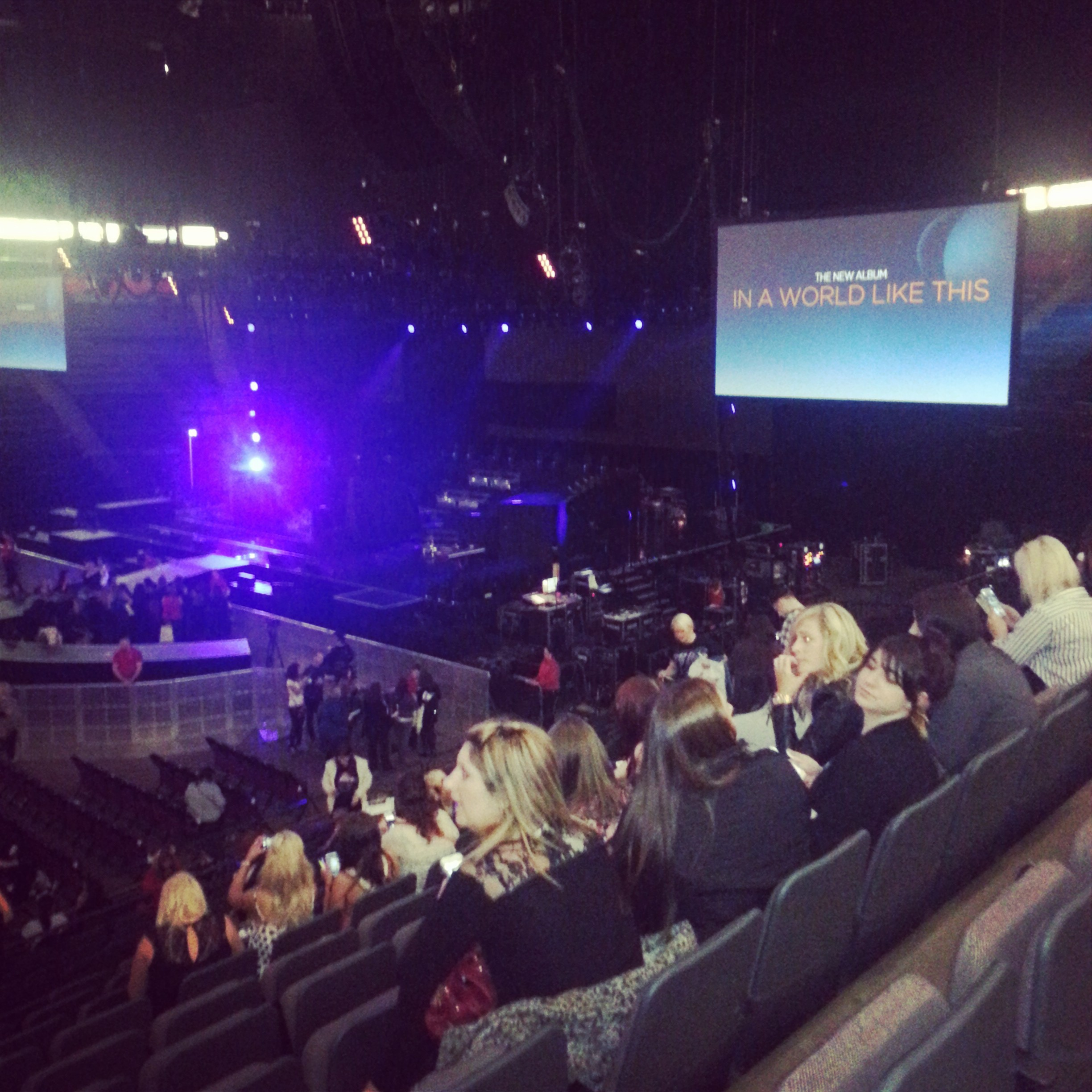 Metro Radio Arena Floor Plan View From Phones4u Arena Manchester Block 114 Row R Seat 11