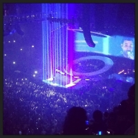 View from Phones4U Arena (Manchester) Block 212 Row M Seat 25
